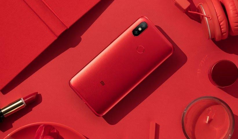 Xiaomi Mi 6X Red featured 3